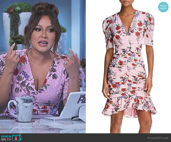 Need You Now Floral Dress by Keepsake worn by Adrienne Houghton  on The Real