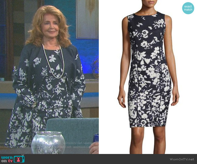 'Evelyn' Dress by Lafayette 148 New York worn by Suzanne Rogers on Days of our Lives