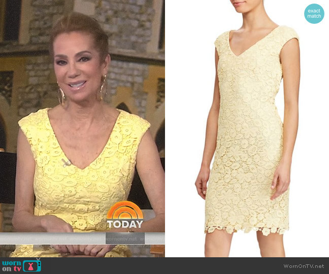Montie Dress by Lauren Ralph Lauren worn by Kathie Lee Gifford on Today