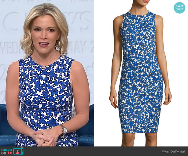 Field Floral Dress by Michael Kors Collection worn by Megyn Kelly  on Today