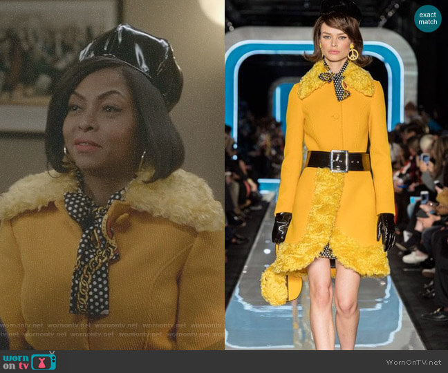 by Moschino - 2018 Fall Collection worn by Cookie Lyon (Taraji P. Henson) on Empire