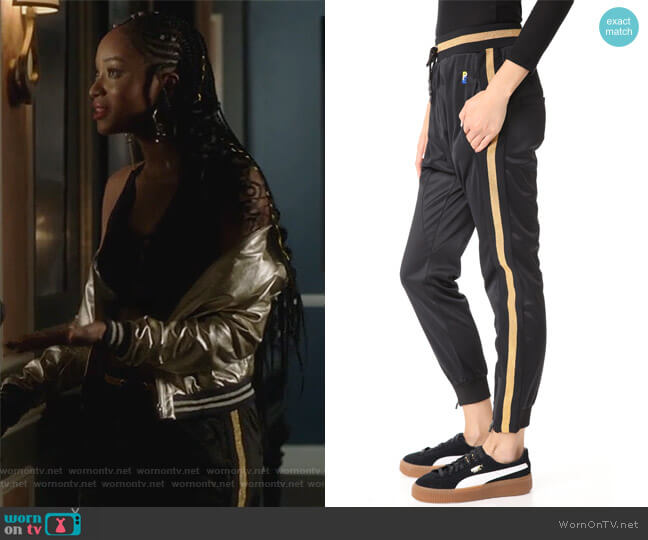 The 100M Dash Pants by PE Nation worn by Tangey Turner (Pepi Sonuga) on Famous in Love