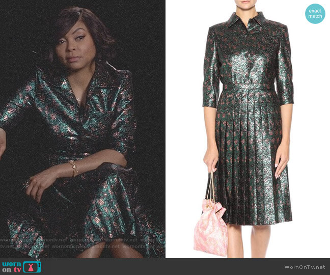 Metallic Dress by Prada worn by Cookie Lyon (Taraji P. Henson) on Empire