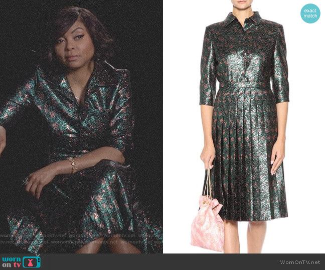 Metallic Dress by Prada worn by Taraji P. Henson on Empire