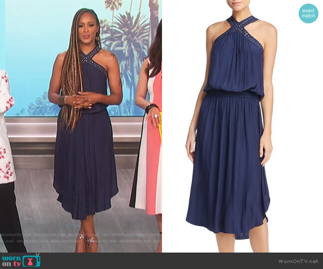 Autumn Studded Dress by Ramy Brook worn by Eve on The Talk