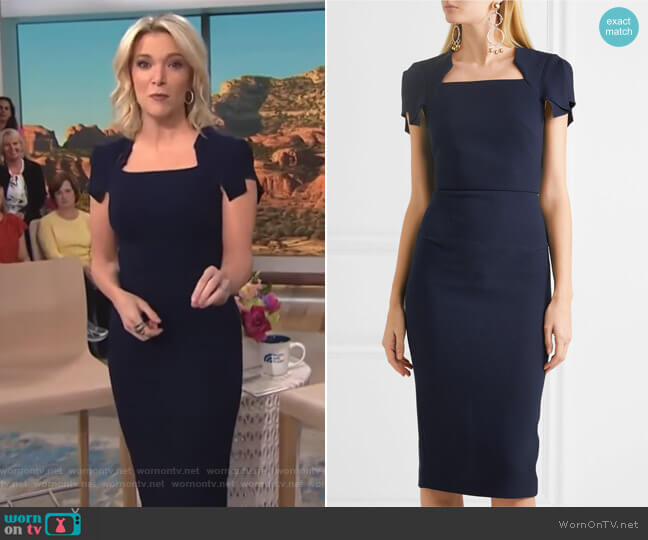 Royston Wool Sheath Dress by Roland Mouret worn by Megyn Kelly  on Today