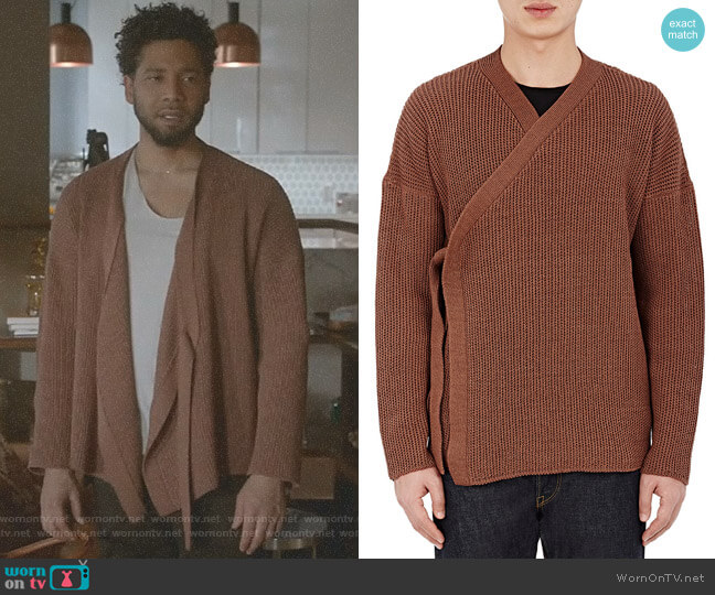 Wrap Cardigan by Simon Miller worn by Jussie Smollett on Empire