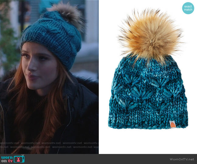 The Motley in Ocean by Shit That I Knit worn by Bella Thorne on Famous in Love