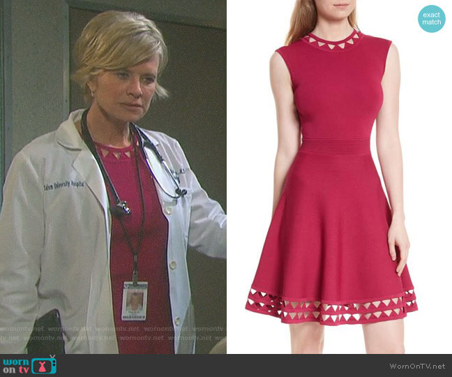 'Kathryn' Dress by Ted Baker worn by Mary Beth Evans on Days of our Lives