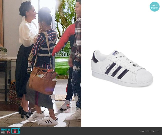 Adidas Superstar Sneakers worn by Yara Shahidi on Blackish