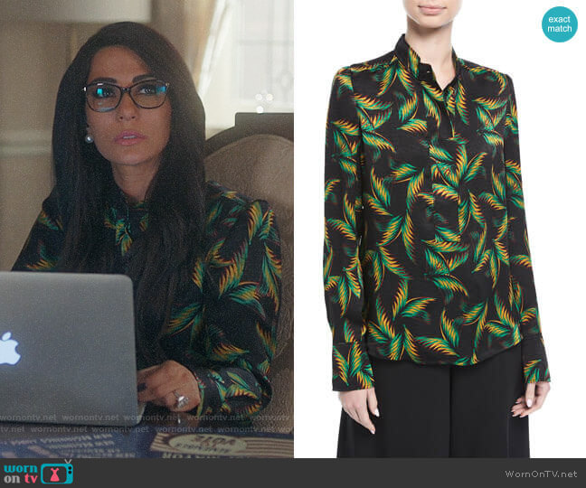 ALC Gosford Top worn by Hermione Lodge (Marisol Nichols) on Riverdale