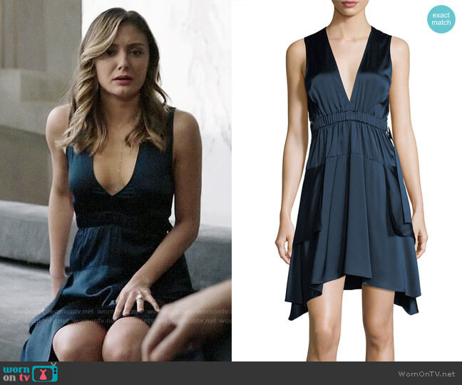 ALC Nahia Dress worn by Christine Evangelista on The Arrangement