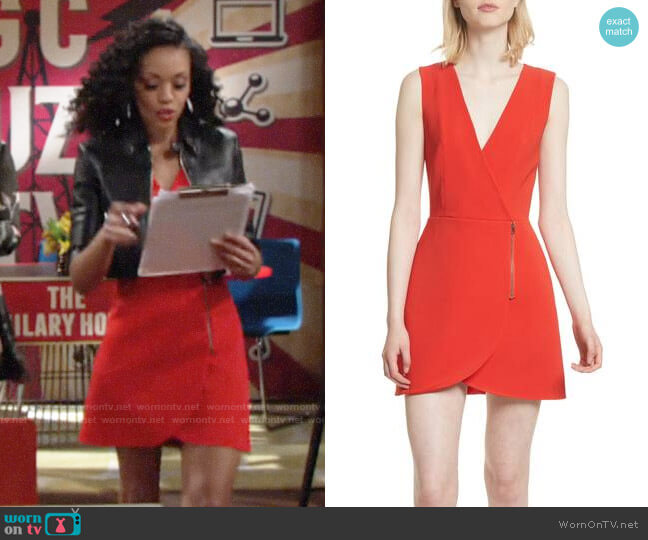 Alice + Olivia Lennon Dress worn by Mishael Morgan on The Young & the Restless
