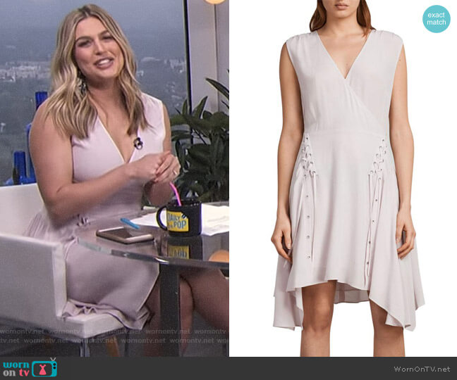 'Miller' Dress by All Saints worn by Carissa Loethen Culiner on E! News