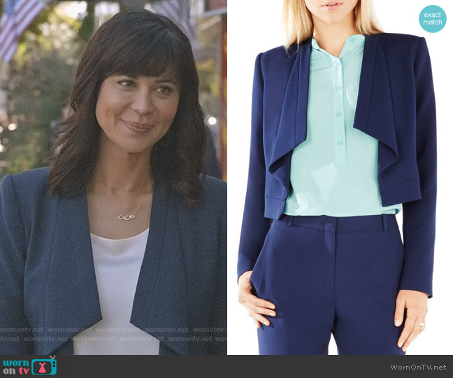 'Franco' Jacket by Bcbgmaxazria worn by Catherine Bell on Good Witch
