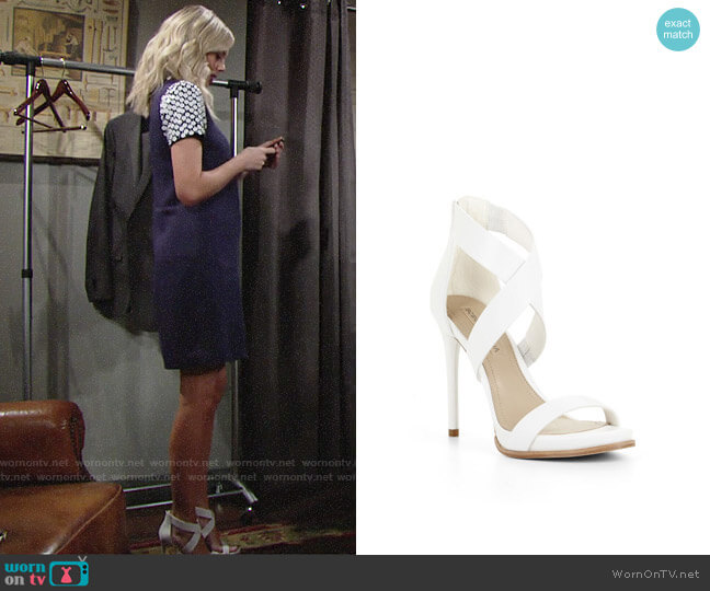 Bcbgmaxazria Elyse Sandals worn by Melissa Ordway on The Young & the Restless