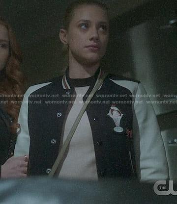 Betty's ice-cream sundae patch jacket on Riverdale