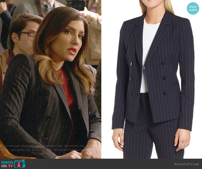 BOSS Jelaya Jacket worn by Juliana Harkavy on Arrow