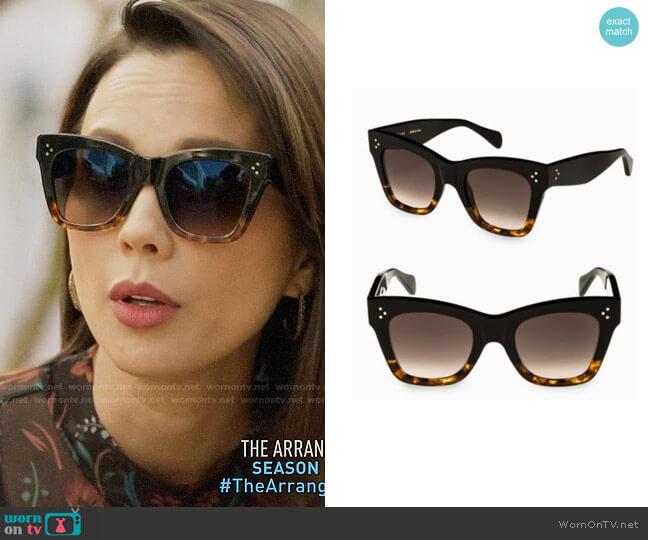 caeb55e2ef06 Celine Cat Eye Sunglasses 2018