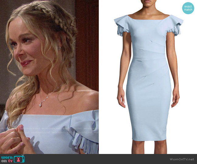Chiara Boni La Petite Robe Julienne Dress worn by Donna Logan (Jennifer Gareis) on The Bold & the Beautiful