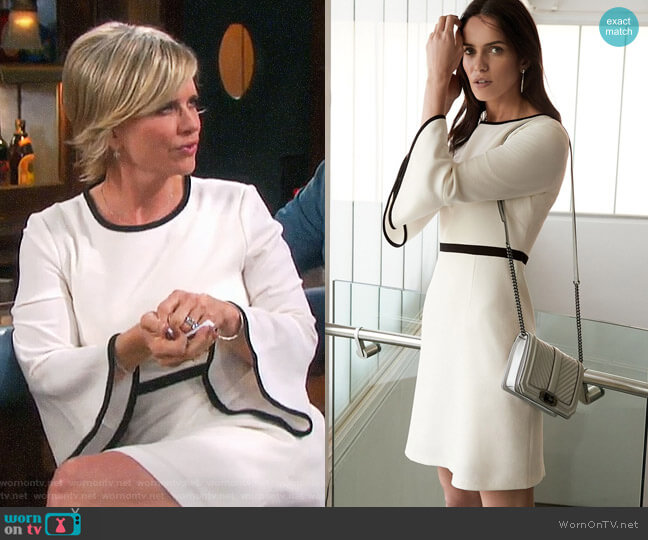 Eliza J Fit & Flare Dress worn by Mary Beth Evans on Days of our Lives