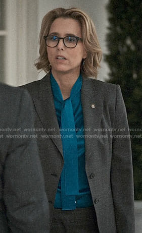 Ali's striped top on Madam Secretary