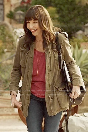 Gail's army jacket on Last Man on Earth