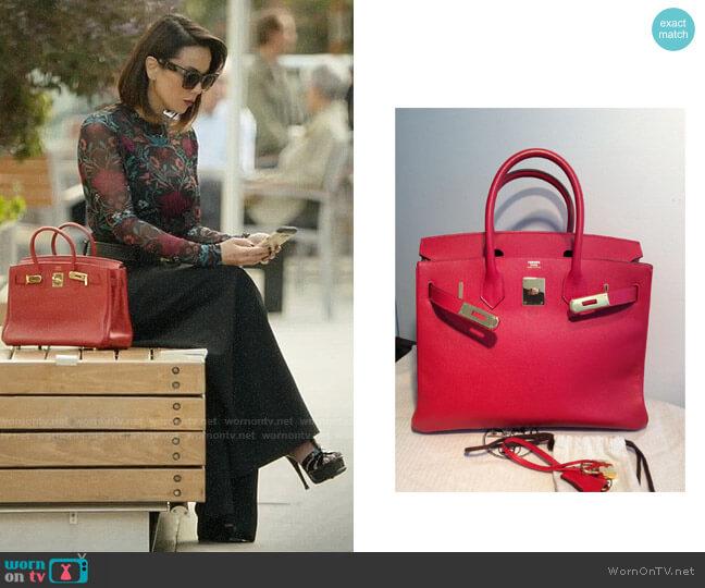 Hermes Birkin Bag worn by Deann Anderson (Lexa Doig) on The Arrangement