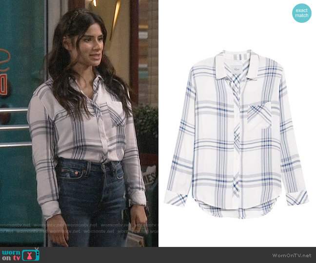 Rails Hunter Shirt  worn by Diane Guerrero on Superior Donuts
