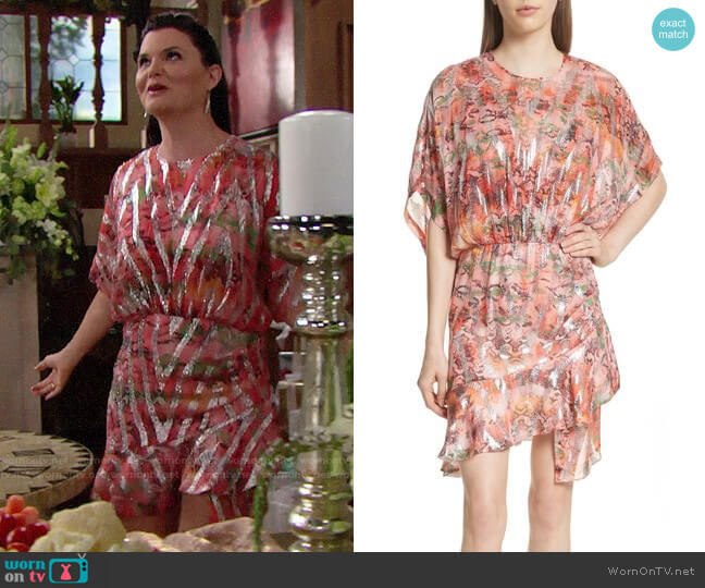 IRO Wobam Dress worn by Katie Logan (Heather Tom) on The Bold & the Beautiful
