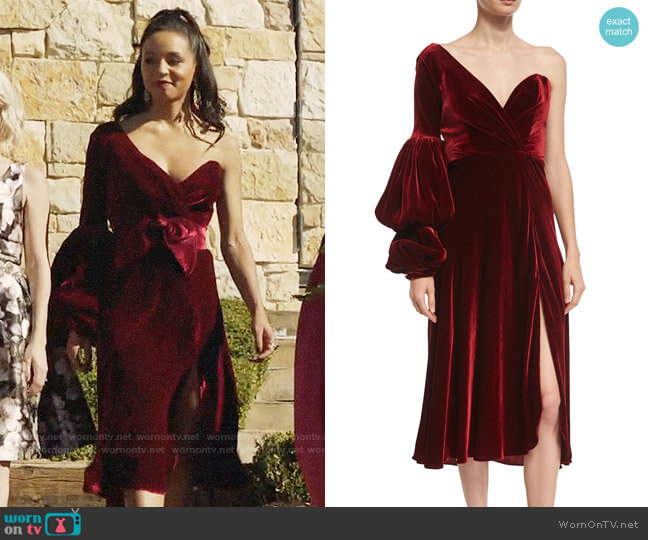 Johanna Ortiz Sabina Dress worn by Shaun (Carra Patterson) on The Arrangement