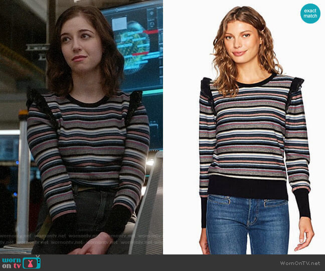 Joie Cais Sweater worn by Annabelle Attanasio on Bull