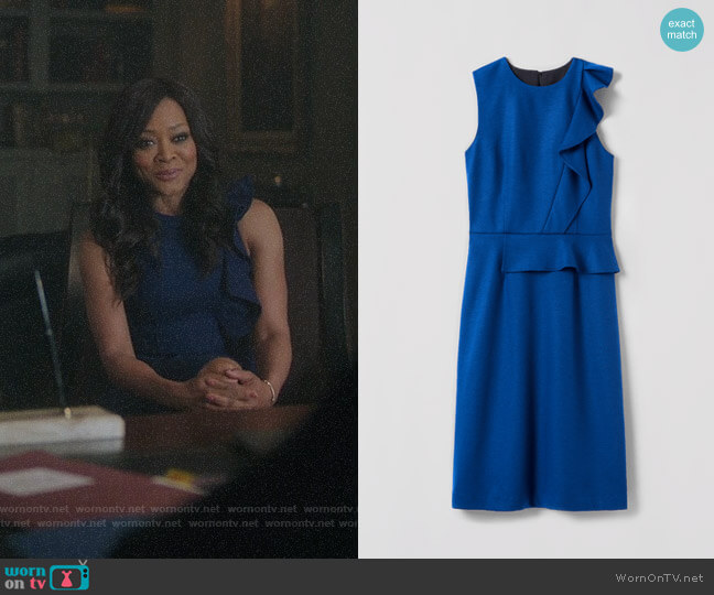 Judith & Charles Palm Dress worn by Robin Givens on Riverdale
