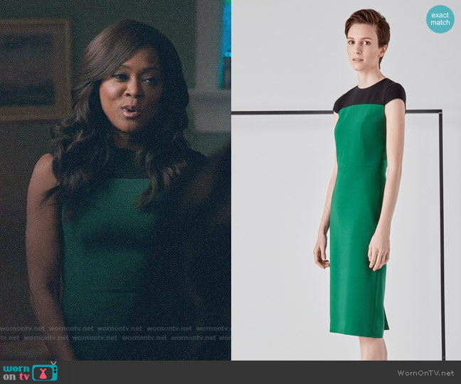 Judith & Charles Rocha Dress worn by Mayor Sierra McCoy (Robin Givens) on Riverdale