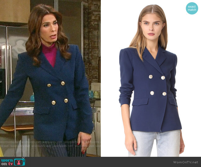 L'Agence Marc Blazer worn by Hope Williams (Kristian Alfonso) on Days of our Lives