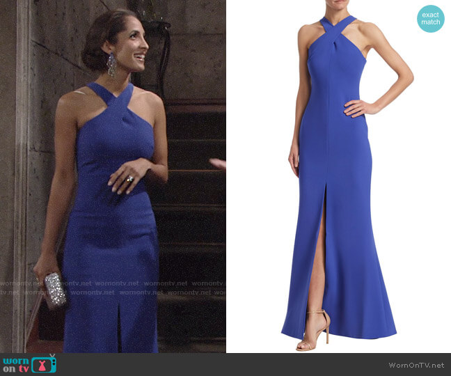 Likely Kingsbury Gown worn by Christel Khalil on The Young & the Restless
