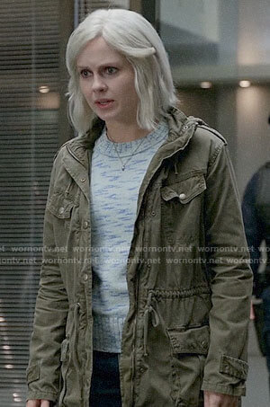 Liv's green jacket on iZombie