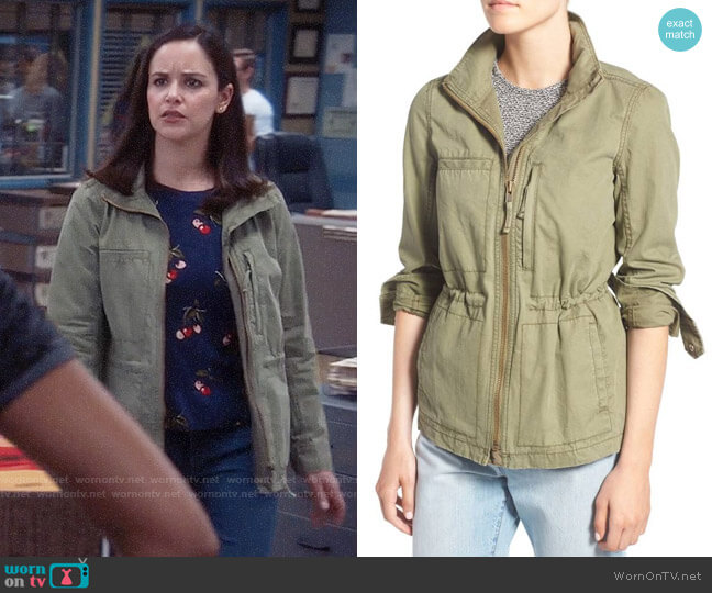 Madewell Fleet Jacket worn by Amy Santiago (Melissa Fumero) on Brooklyn Nine-Nine