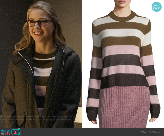 Rag & Bone Annika Sweater worn by Kara Danvers (Melissa Benoist) on Supergirl