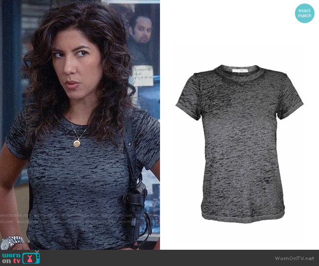 Rag & Bone The Burnout Tee worn by Stephanie Beatriz on Brooklyn Nine-Nine