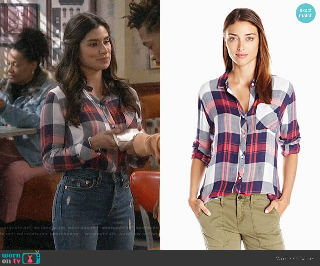 Rails Hunter Shirt worn by Sofia (Diane Guerrero) on Superior Donuts