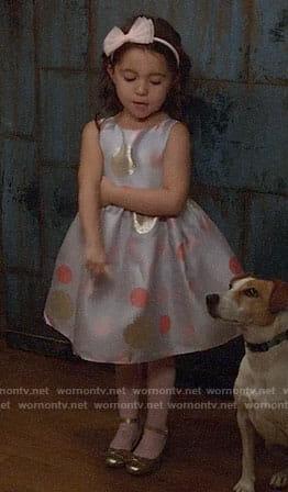 Ruth's polka dot dress on New Girl