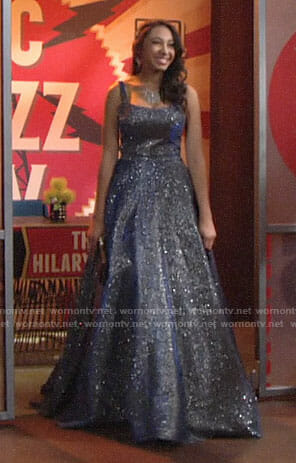 Shauna's prom dress on The Young and the Restless