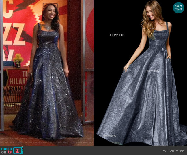 Sherri Hill 52138 Prom Dress worn by Camryn Hamm on The Young & the Restless