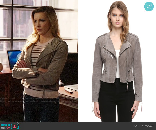 Soia & Kyo Karla Jacket worn by Katie Cassidy on Arrow