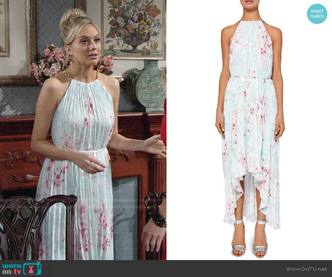 Ted Baker Aureila Dress worn by Melissa Ordway on The Young & the Restless
