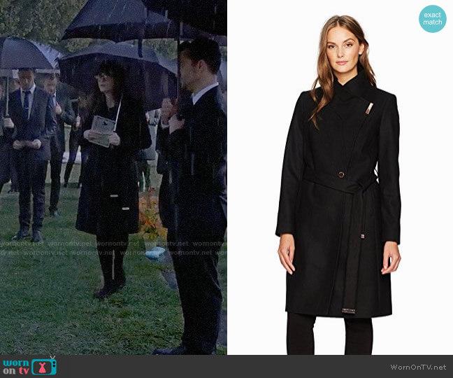Ted Baker Kikiie Coat worn by Jessica Day (Zooey Deschanel) on New Girl
