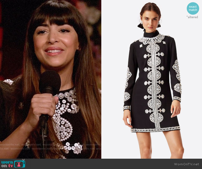 Tory Burch Sylvia Dress worn by Hannah Simone on New Girl