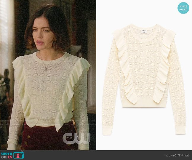 Wilfred Bernelle Sweater worn by Lucy Hale on Life Sentence