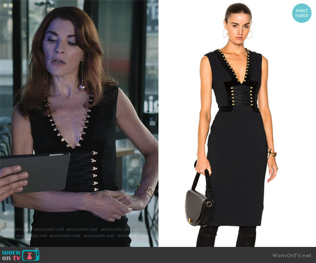 Adriana Dress by Altuzarra  worn by Julianna Margulies on Dietland